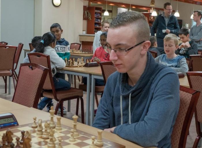 Barend van Dieren snelchaakkampioen