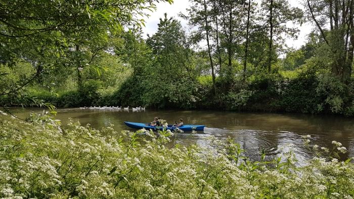 met IVN genieten van de natuur vanuit de kano