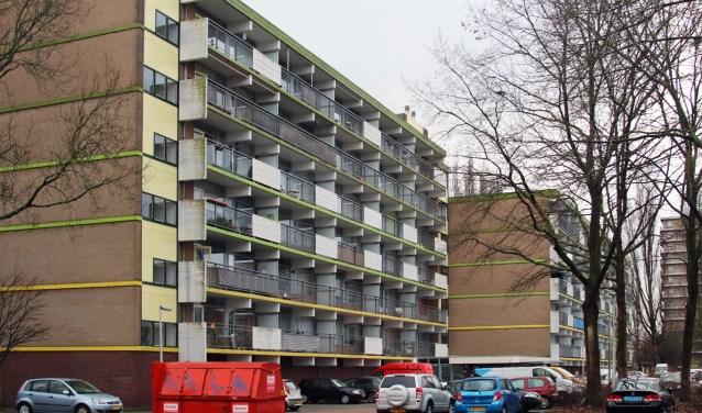 De flat Aquarius aan Watercirkel, waarvan huurders afgelopen jaar volop klaagden over hun huisbaas Eigen Haard.