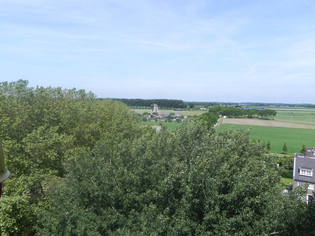 Na enkele meters met de lift wordt de molen van Werkhoven al zichtbaar. Richard Thoolen © BDU media