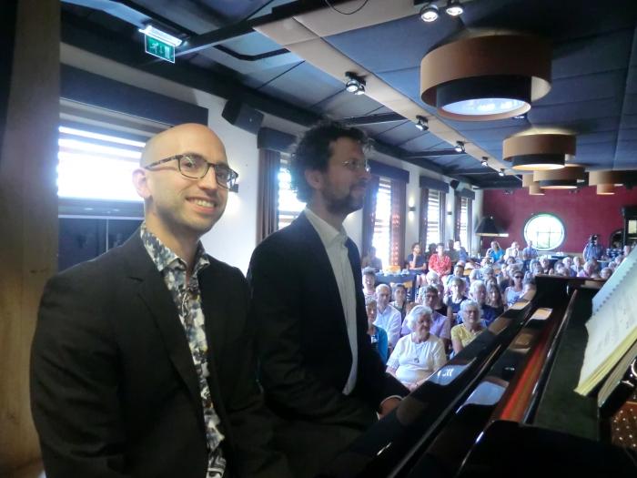Daniël van der Hoeven en Ernst Munneke zitten er klaar voor n.v.t. © BDU media