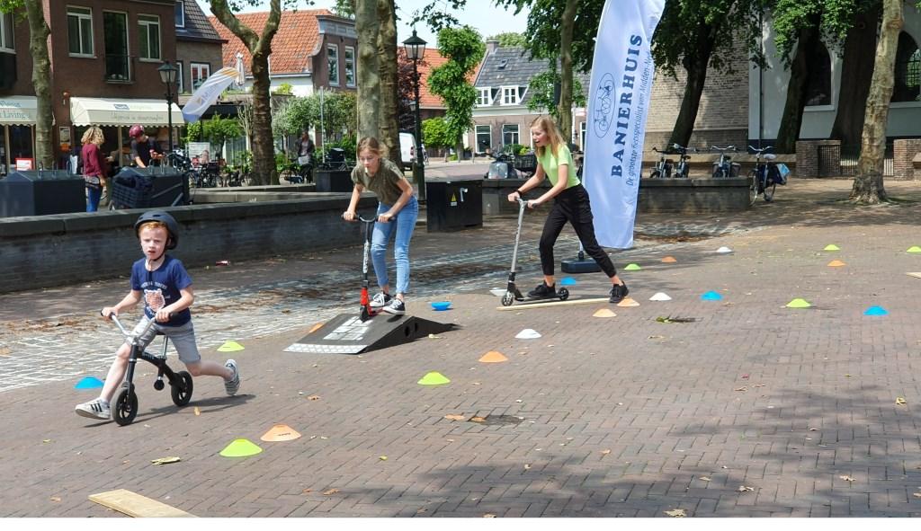 Eerst nog oefenen op de mini obstakels Irene van Valen © BDU media