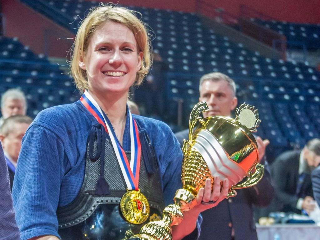 Fleur Smout is trots op de prestaties van het Nederlandse Kendo-team en zichzelf.
