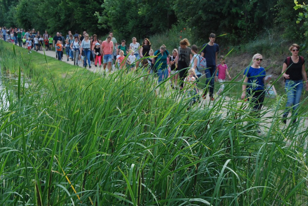 Wandelaars op weg voor de 5 kilometer. Adriaan Hosang © BDU media