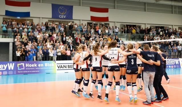 Sliedrecht Sport won afgelopen seizoen van Graz in de Europacup.