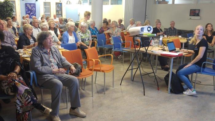 Aandachtig publiek bij lezingen Fysio Geeresteingroep Gerrit Grotentraast © BDU media