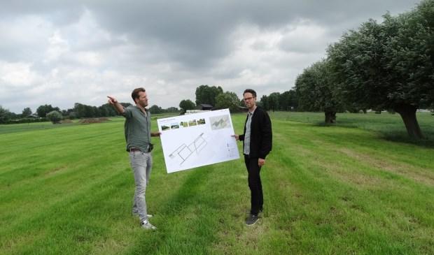 Maarten en Freek van BHM Solar in het land van Peterse