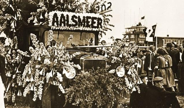 In 1938 protesteerden de kwekers tegen plannen om Schiphol te vervangen door een nieuwe luchthaven bij Leiderdorp.