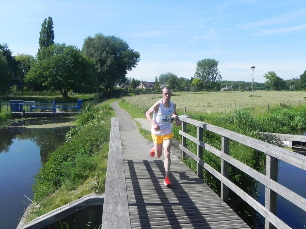 Colin Bekers uit Teteringen was de onbetwiste winnaar op de 10 kilometer loop.  Richard Thoolen © BDU media