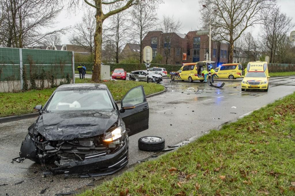 Ongeluk op de 's Gravenhoutseweg in Nieuwegein