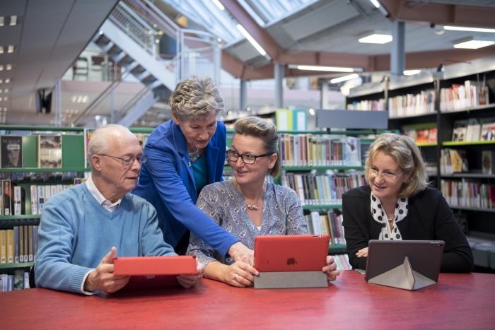 Vrijwilliger bij SeniorWeb