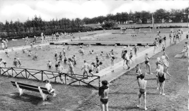 Zwembad 't Willaer rond 1960.