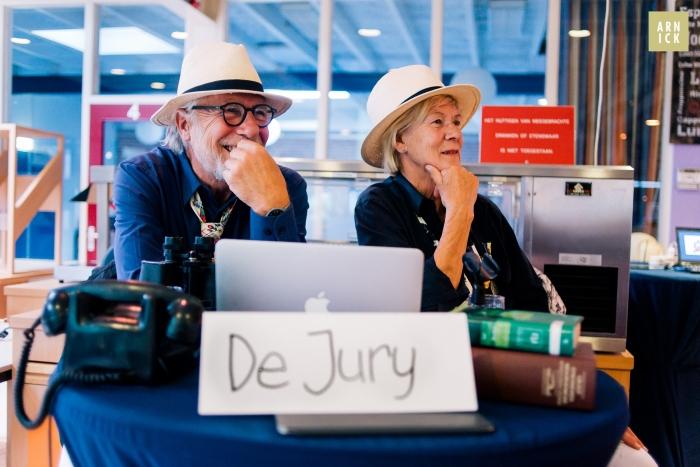 Juryleden Ad en Nienke hielden streng toezicht @arnick.nl © BDU