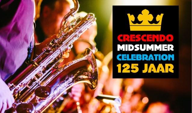 Crescendo viert haar 125-jarig bestaan onder andere met de Midsummer Celebration.