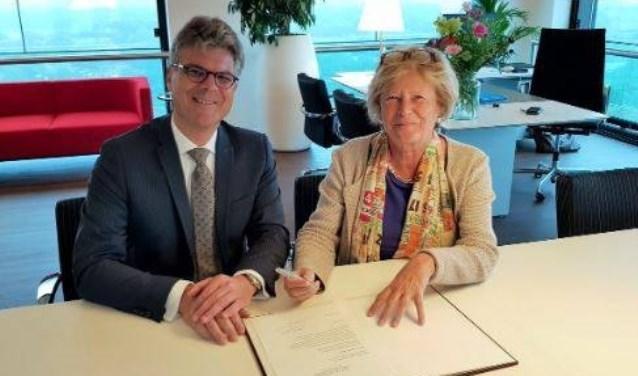 Hans Oosters zorgde ervoor dat Wijk bij Duurstede momenteel een vrouwelijke waarnemend burgemeester heeft