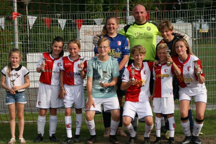 Winnaars Penalty Bokaal 2019.