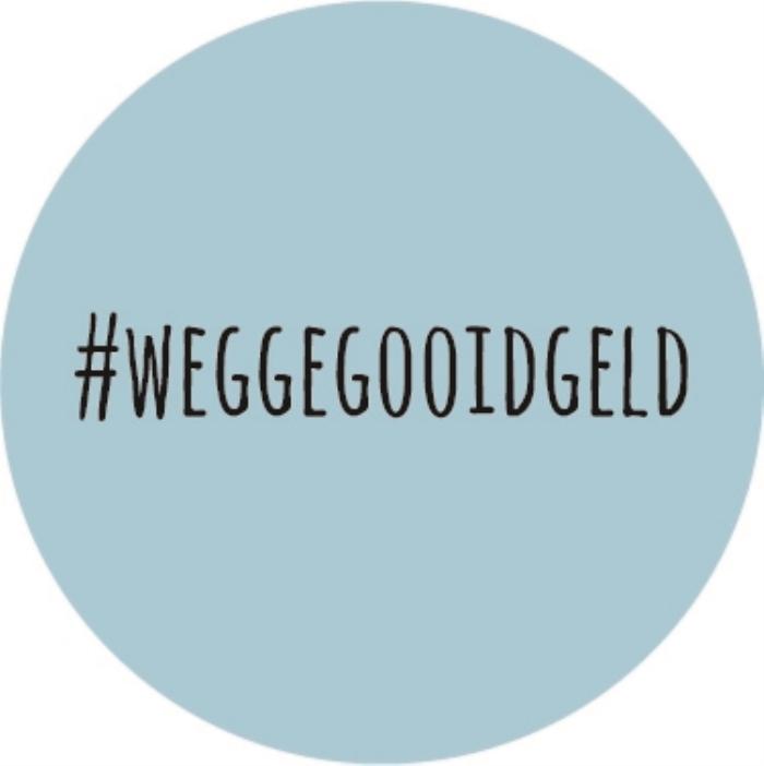 Logo #weggegooidgeld
