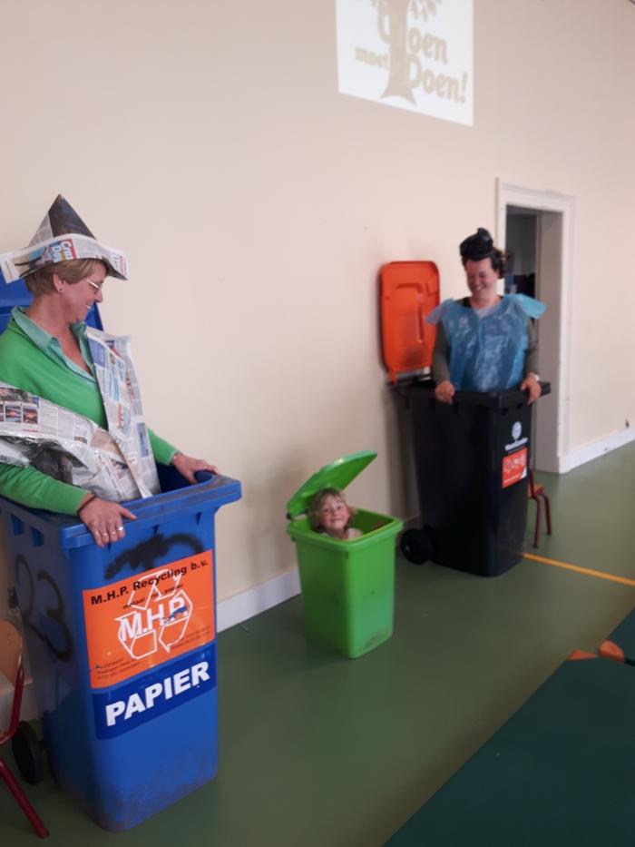 Scheid je afval op de juiste manier! A. van Hofwegen © BDU Media