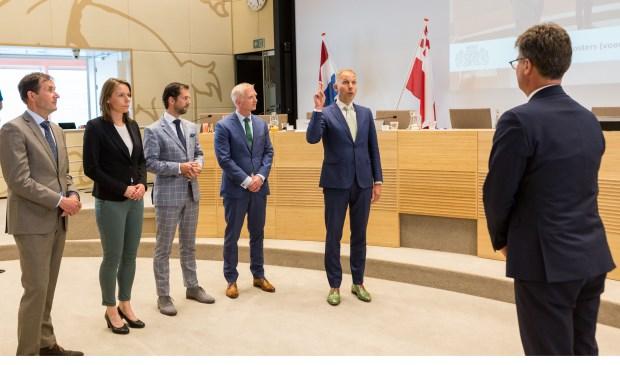 De nieuwe Gedeputeerde Staten van Utrecht zijn geïnstalleerd