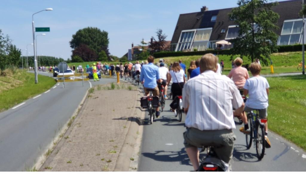 Start van Ritje Rondweg. Irene van Valen © BDU media