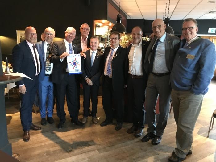 Bestuur Rotary NIjkerk en vriendenclub Merschede-Warstein Rotary Nijkerk © BDU Media