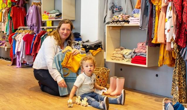 Maaike van de Pol: ,,Het is een fijn gevoel om kinderen te kleden en plezier te geven.''