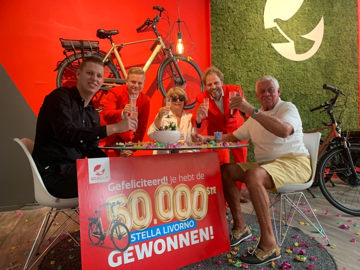 50.000ste Stella Livorno e-bike verkocht