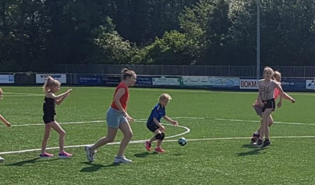 Voor de kinderen waren er aparte wedstrijden.