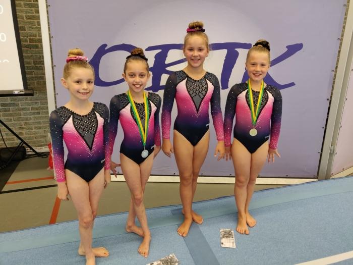 Gwendolyn,  Elysha, Jessie, Britt Manja © BDU Media