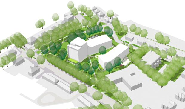 <p>Gemeente Ede wil op het terrein van de Klinkenbergflat 140 nieuwe appartementen realiseren.</p>
