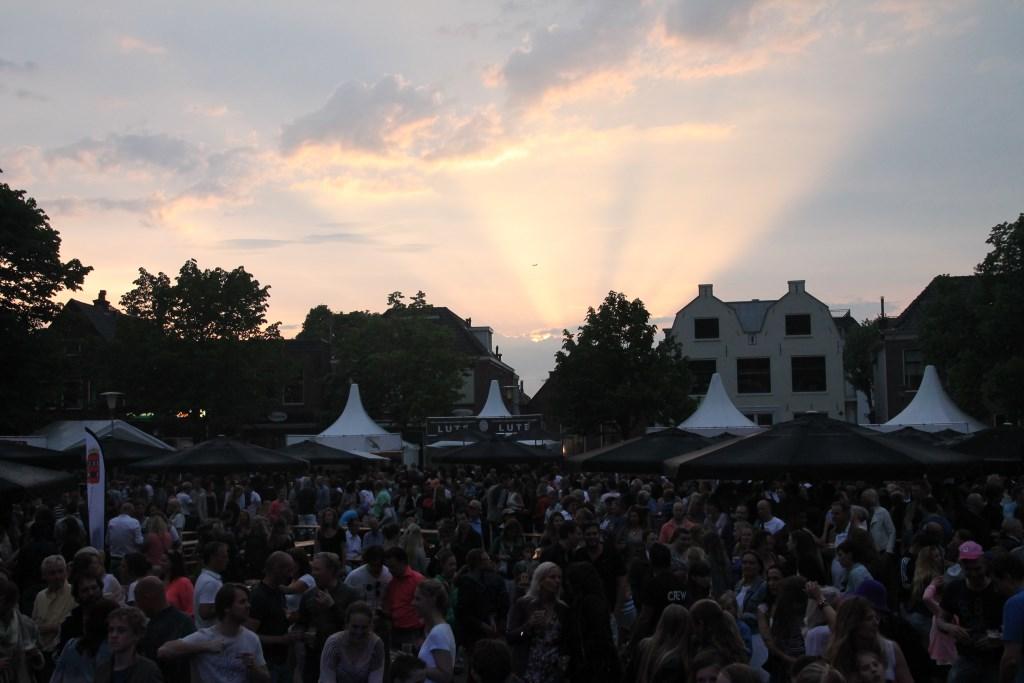 Bij het Amstel Zomer Festival is traditioneel druk bezocht. Kimberly Assendelft © BDU media