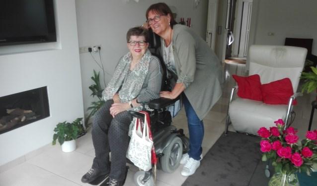 Mariëtte Triel en Jolanda van der Veen zijn allebei actief voor de DUWgroep.