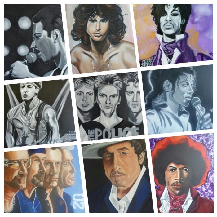 collage popdoeken