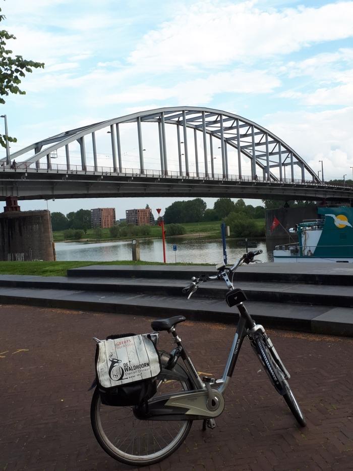 John Frost brug onderweg