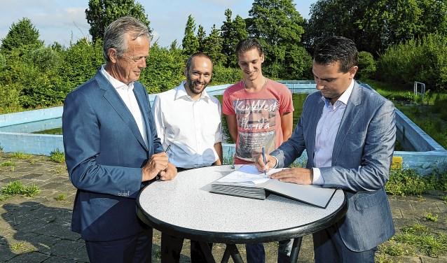 In de zomer van 2017 tekenden de ondernemers een intentieovereenkomst samen met ontwikkelaar Herkon en de gemeente.