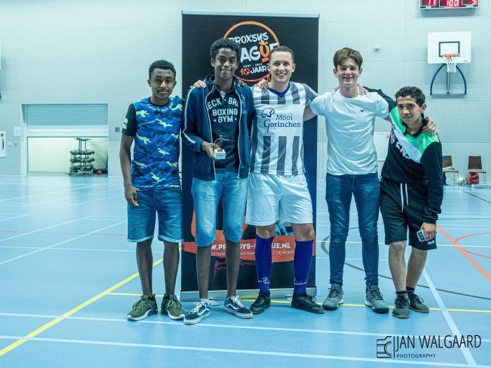 Sportiefste ploeg SNS Street Soccer