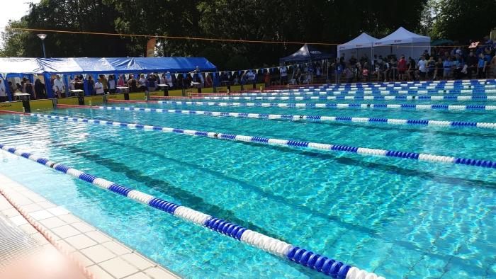 Het zwembad in Herford De trainer © BDU