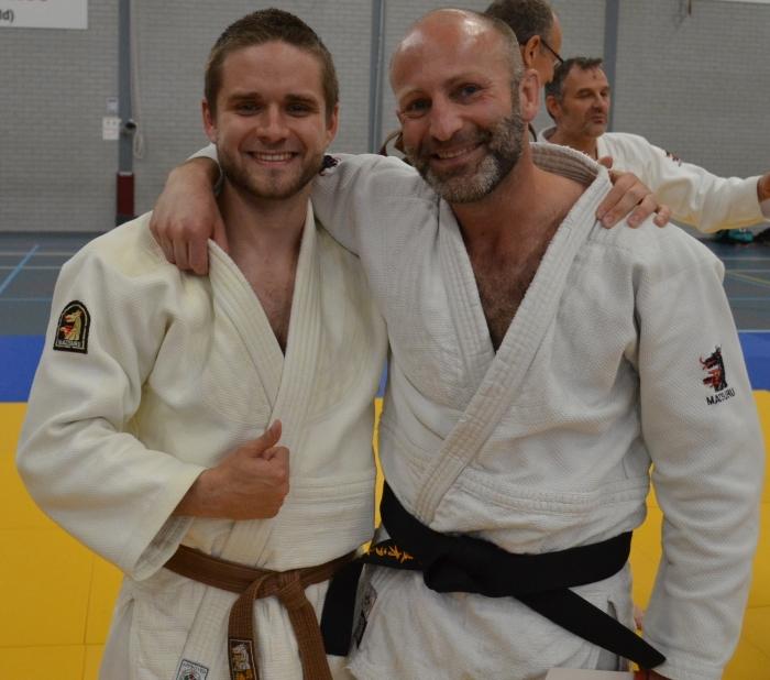 Michel (rechts) en Gerben