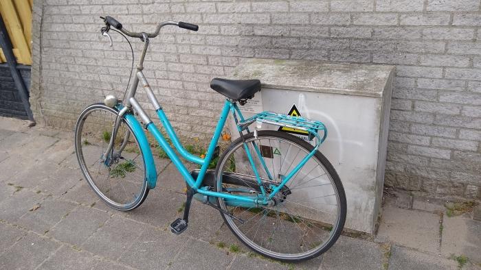De achtergelaten fiets Marijn Krijgsman © BDU media