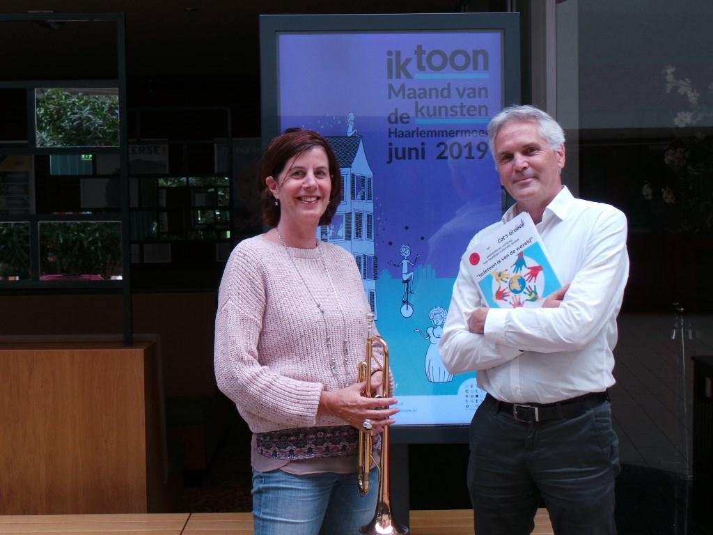 Ineke de Vries en Corné Nijburg namen mede het initiatief tot samenwerking Jet Kuiper © BDU media