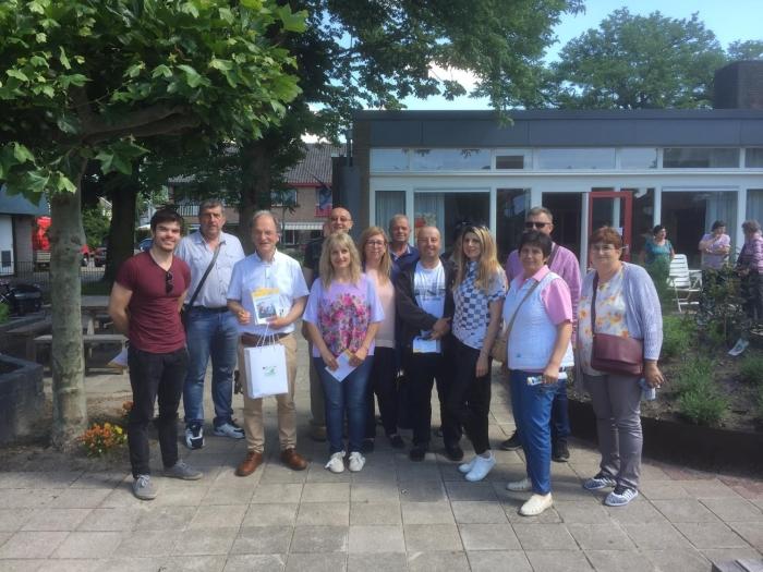 Bulgaarse delegatie bij De Oude Bieb