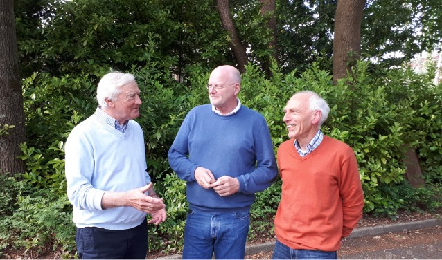 Evert de Boer (links), Rob Duijn en Berend Musegaas hebben dringend versterking nodig in het bestuur van de VBMM.