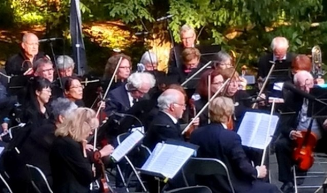 Het Amstelveen symfonieorkest.