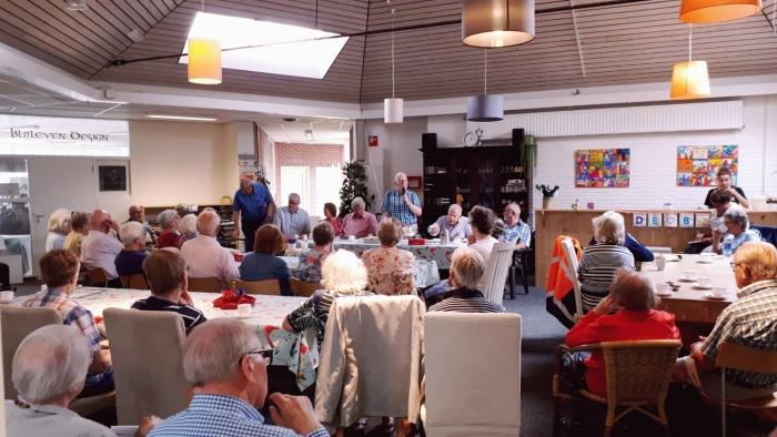 Bijeenkomst van de seniorenbonden