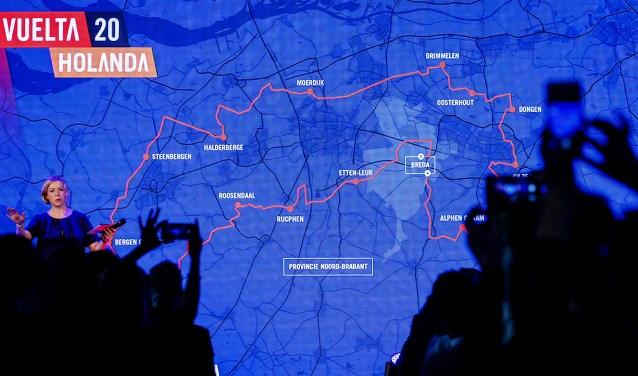 Bekendmaking van de Nederlandse routes voor de Vuelta 2020.