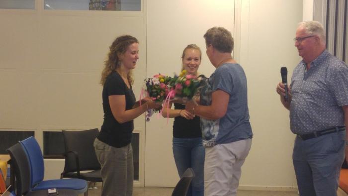 Een bedankje voor de inleiders Harmke v.d. Vinne en Julia Faas van de Fysio Geersteingroep