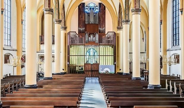 Het orgel van de Nicolaaskerk.