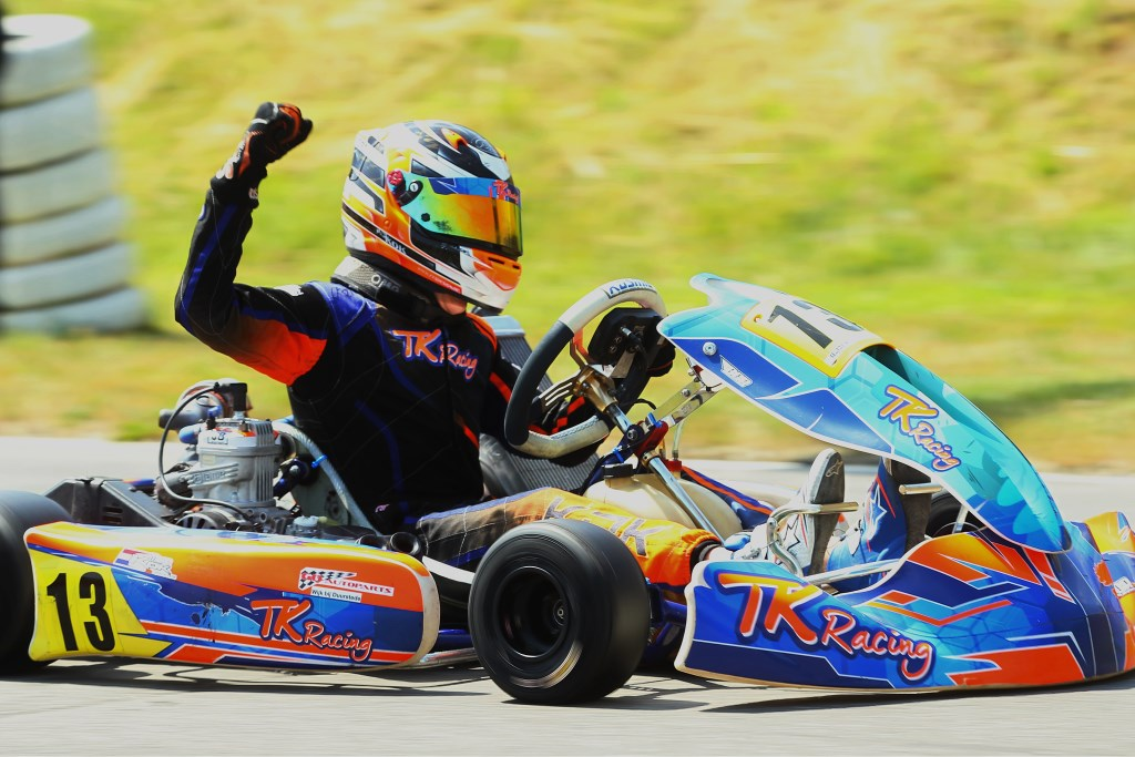 Karter Milan Kok wint X30 Cadet-klasse in Benelux-kampioenschap Milan Kok © BDU media
