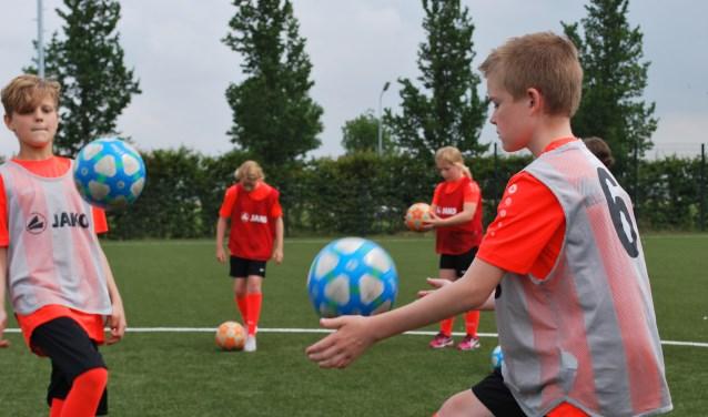 Kinderen beleven veel plezier tijdens Voetbalvierdaagse 2019