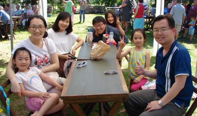 Familie Kun Chi Tsai uit Taiwan